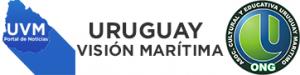 Logo de uruguay visión marítima